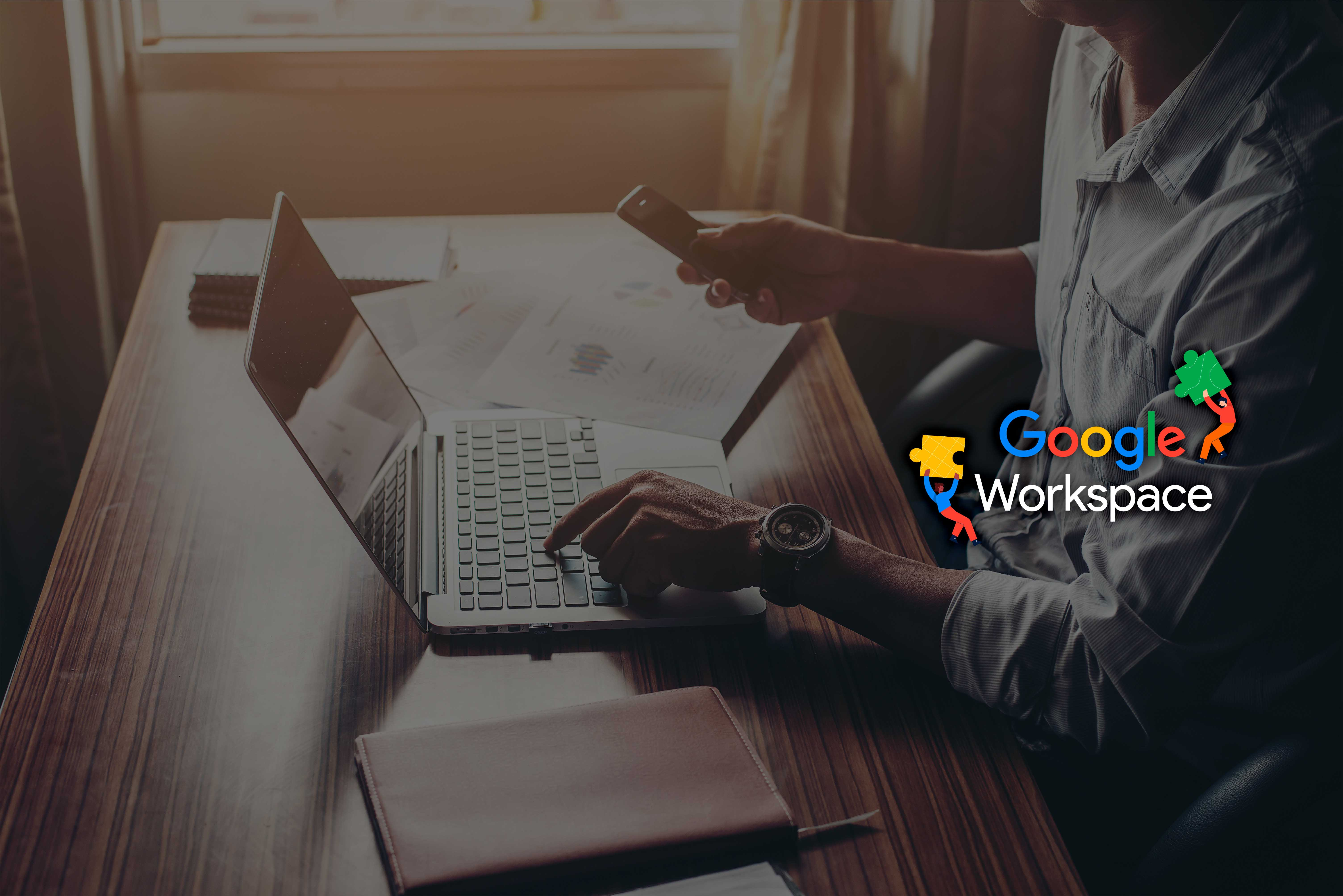 """<span class=""""orange"""">Google Workspace:</span> <br> la suite con tutti <br>i migliori strumenti"""