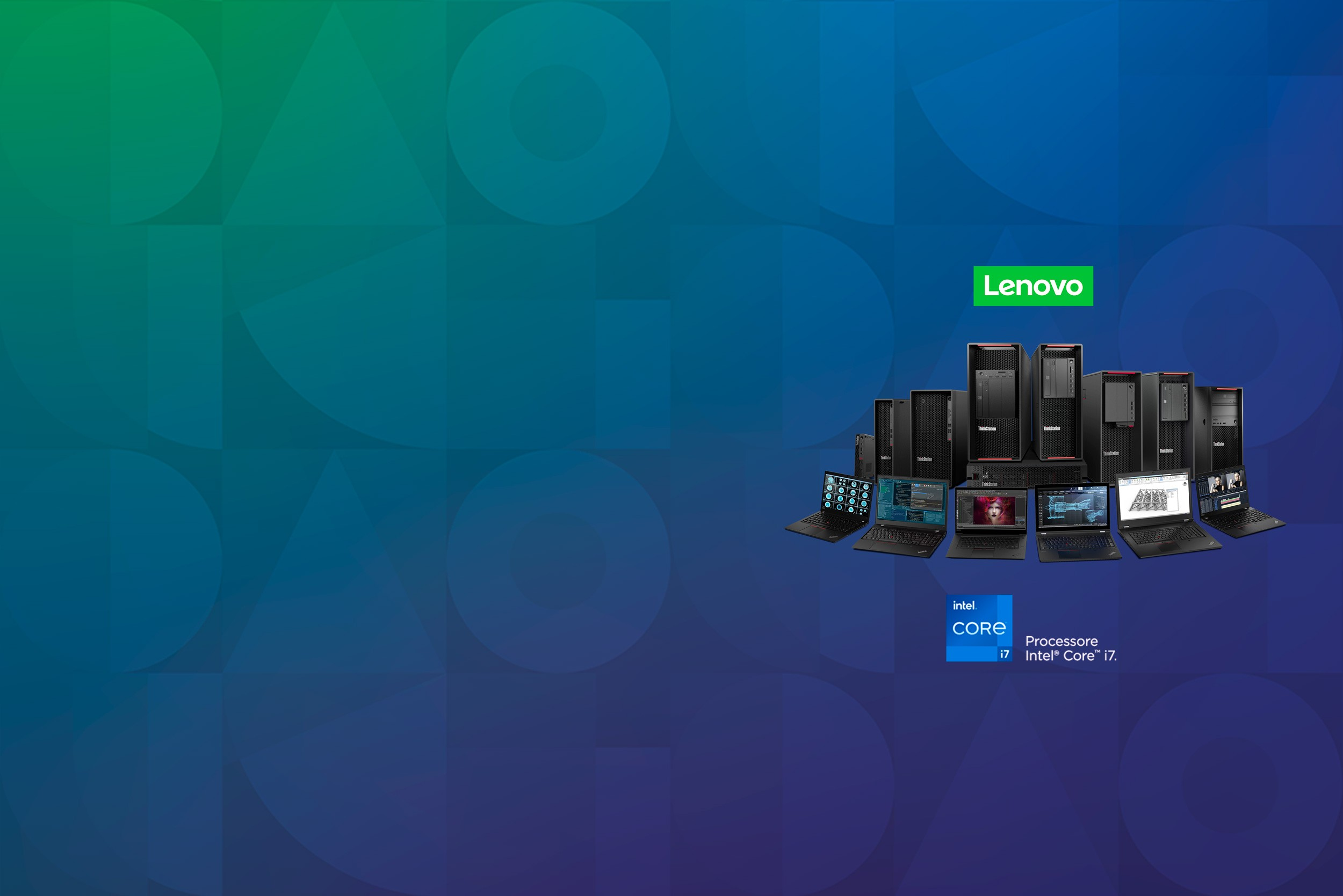 "<span class=""orange""> Lenovo: </span> potenza, performance, <br> produttività"